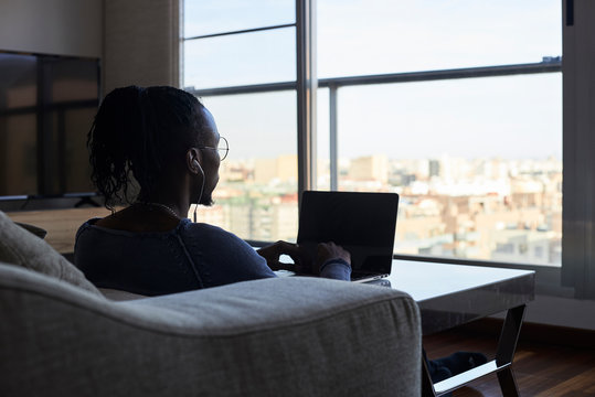 Work from home with city views.
