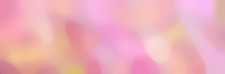 smooth iridescent horizontal background with light pink, pink and dark salmon colors and space for text or image Wall mural