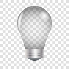 Light bulb realistic