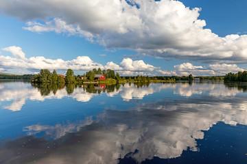 Calm day in Rovaniemi, Finland