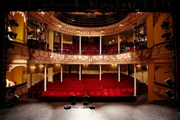 Empty Theatre Fotomurales