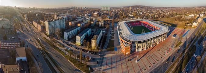 Stadion Widzewa- Łódź, Polska