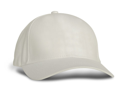 Promote your hat brand across with this Side View Amazing Baseball Cap Mock Up In White Tofu Color.