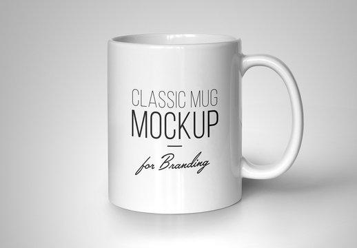 Classic Mug Mockup for Branding