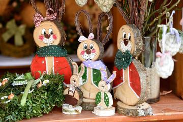 """Ostermarkt im Kulturzentrum """"Alfa"""" Steyrermühl (Laakirchen, Bezirk Gmunden; Salztammergut; Oberösterreich, Österreich) - Easter market in the cultural center """"Alfa"""" Steyrermühl (Laakirchen)"""