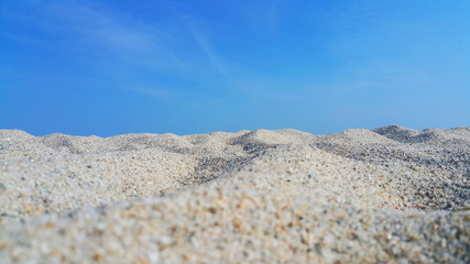 Chalkidiki Grecja plaża morze piasek niebo