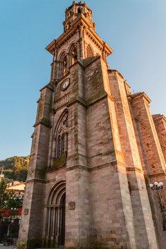 Templo de la Inmaculada Concepción de Angangueo Michoacan, Mexico