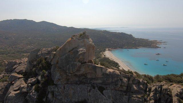 Le lion de Roccapina en Corse