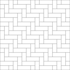 White zigzag chevron pattern background. Weave pattern background vector.