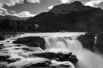 Wall Mural - Athabasca Falls, Jasper National Park, Alberta, Canada
