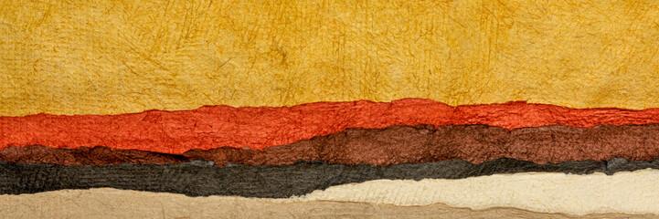 Canvas Prints Honey abstract desert or badlands landscape