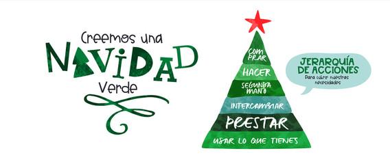 Spanish buyerarchy of needs christmas banner