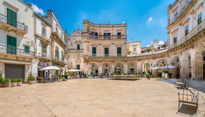 Martina Franca, province of Taranto, Apulia, southern Italy.