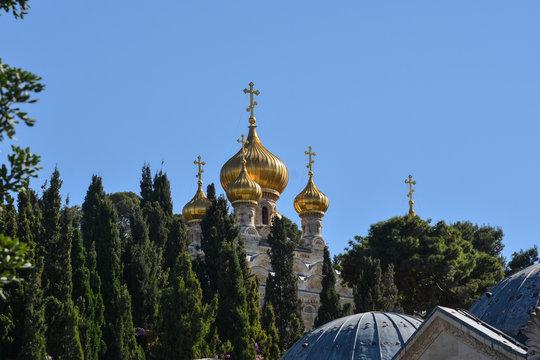 Church of St. Mary Magdalene in Gethsemane.