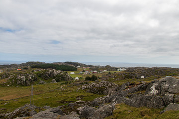 Landscape on the island of Utsira in western Norway.