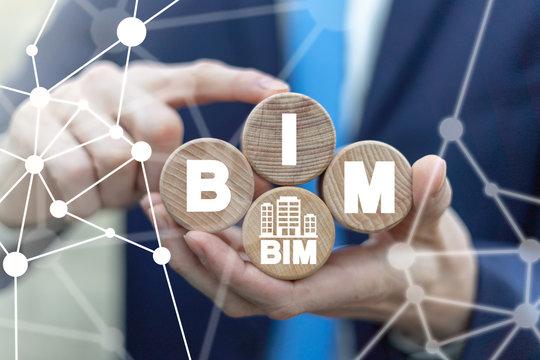 BIM Building Information Modeling City Construction Complexity Technology.