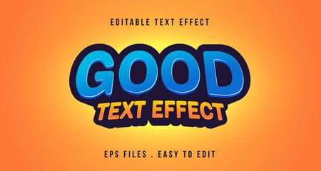Good 3D Text effect, Editable text Wall mural