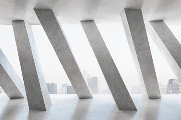 Modern concrete interior Fototapete
