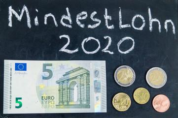 Mindestlohn steigt 2020
