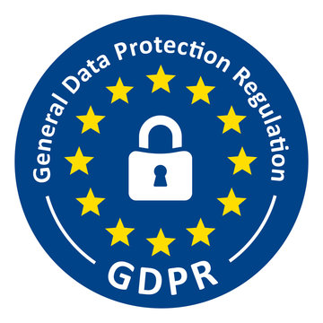 Button GDPR General Data Protection Regulation