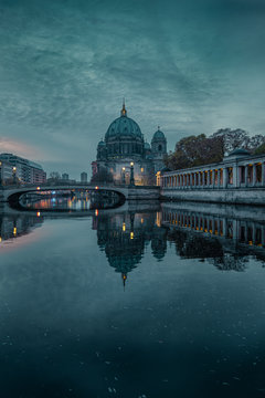 Morning mood on the river Spree