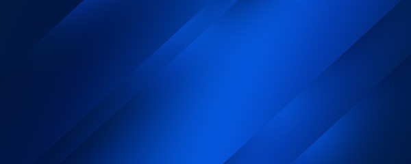 Dark blue background with abstract graphic elements