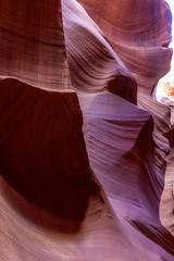 Stores photo Marron Antelop canyon