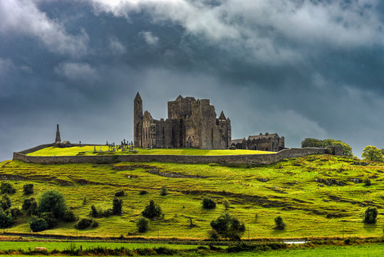 Rock of Cashel (irish Carraig Phadraig) - a complex of medieval sacred and defensive buildings in Cashel