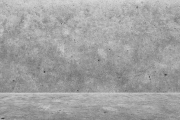 Texture pattern of room gray cement or concrete wall background.