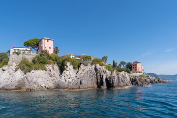 Ligurie Rocky coast of Liguria, Italy