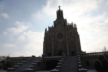 Catholic cathedral church in Tashkent, Uzbekistan