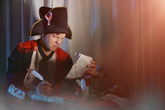Napoleon Bonaparte, military leader and statesman of the 18th century