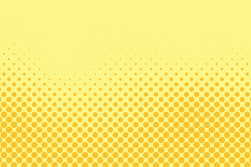 Vector simple comic book background. Halftone pattern in retro pop art style