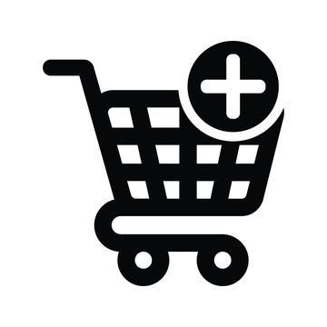 Add to cart icon, adding Shopping cart