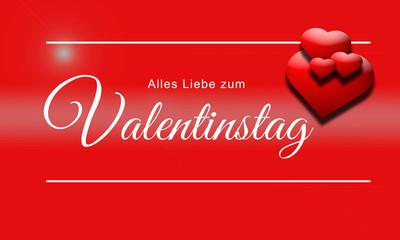 Valentinstag Alles Liebe