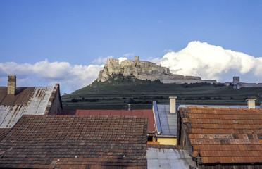 Fototapeta UNESCO Weltkulturerbe, Spissky hrad, Zipser Burg, Slowakische Re obraz