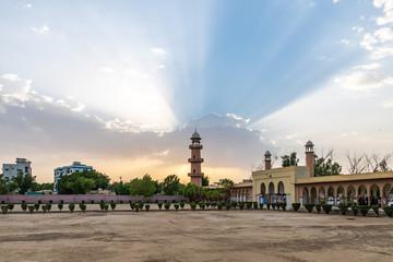 Hyderabad Eidgah Masjid Mosque 17 Fototapete