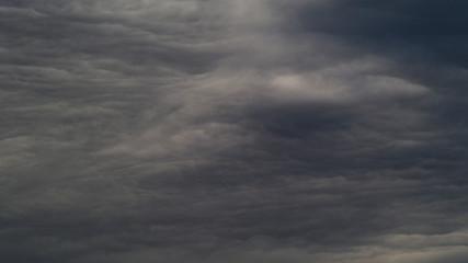 Papiers peints Gris traffic Ciel tourmenté et chaotique, dépression en approche