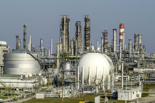 OMV, Raffinerie Schwecht, Österreich, NIederösterreich, Wien U