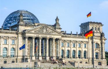 Foto auf AluDibond Berlin Reichstag, Deutschland, Berlin