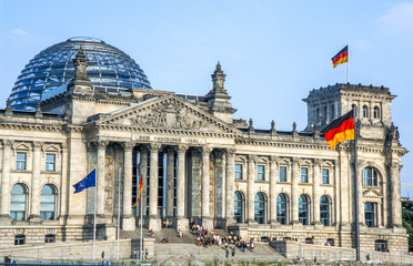 Poster Berlijn Reichstag, Deutschland, Berlin