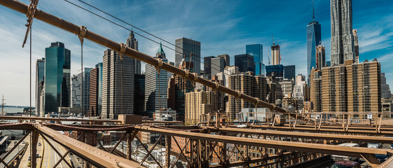 Foto op Aluminium Brooklyn Bridge brooklyn bridge in new york city