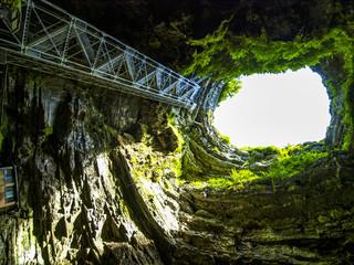 Höhle Gouffre de Padirac, Dordogne, Frankreich, Gouffre de Padi Fototapete