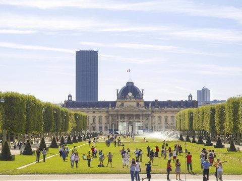 Paris, Champ de Mars, Marsfeld, Ecole Militaire, Frankreich