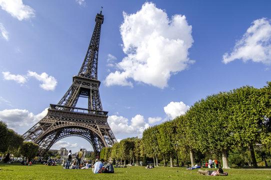 Paris, Eiffelturm, Tour Eiffel, Frankreich