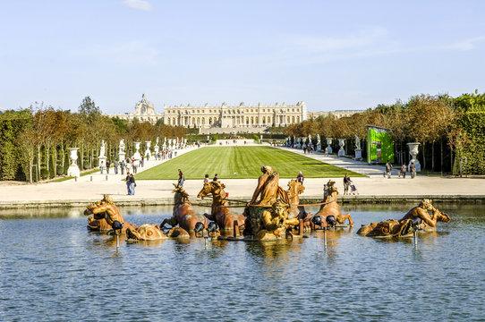 Paris, Schloss Versailles, Apollo Brunnen, Frankreich, Versaille