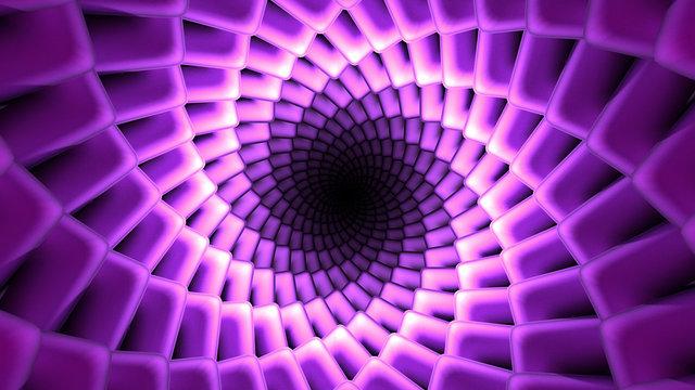 beautiful vortex tunnel hallucinate dmt concept space