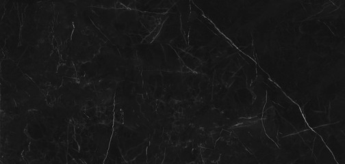 Photo sur Toile Les Textures abstract black marble background