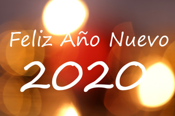 Spanish new year´s eve greetings (Feliz Ano Nuevo)