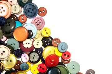 Papiers peints Macarons A Collection of Multicolour Different Size Buttons